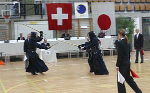 European Kendo Federation - Competition contested by the member nations of European Kendo Federation.