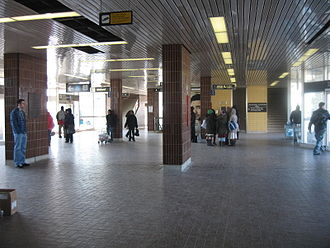 Kennedy station - Bus platform level of the station