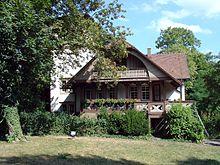 Blick aus dem Garten (Quelle: Wikimedia)