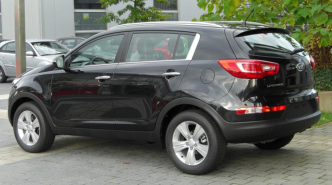 File:Kia Sportage III rear 20100918.jpg - Wikimedia Commons