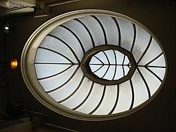 Kilburn Park tube Glass roof