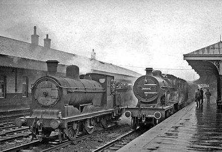 Rail Photo LMS GSWR Fairlie station Ayrshire largs west kilbride