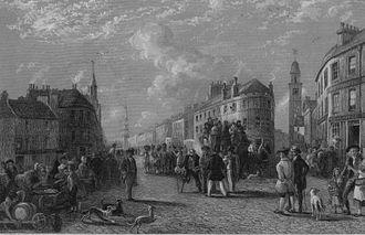 Kilmarnock - Kilmarnock Cross in 1849.