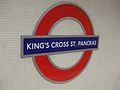 King's Cross St Pancras (Circle) stn roundel.JPG