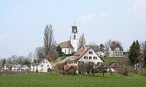 Uetikon am See - Image: Kirche Uetikon am See