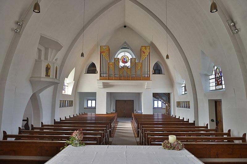 Datei:Kirchstraße 14 Zwischenwasser, Pfarrkirche hl Johannes d T 3.JPG