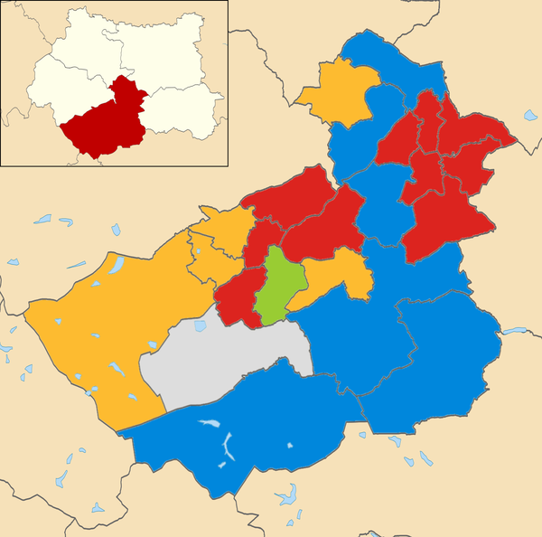 2014 local election results in Kirklees