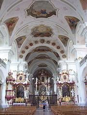 Kloster St. Peter auf dem Schwarzwald-Kirche-innen