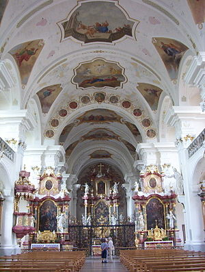 Abbey of Saint Peter in the Black Forest - Abbey church, interior