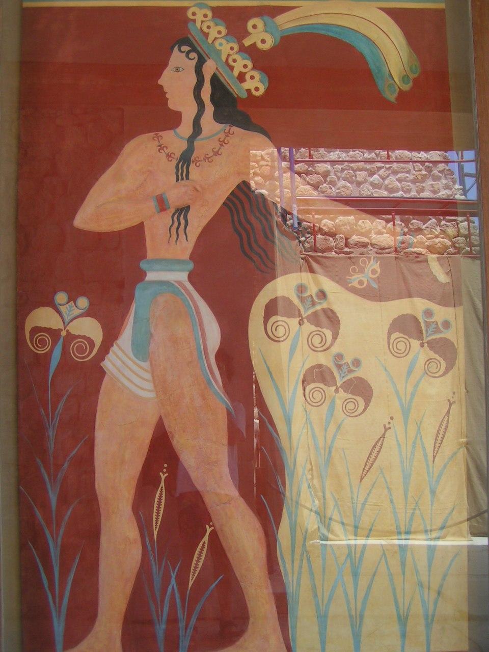 Knossos the prince of lillies