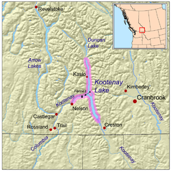 Kootenay Lake  Wikipedia