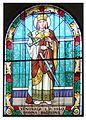 Kostel Cernosice -vitrazni okno sv Barbora.jpg