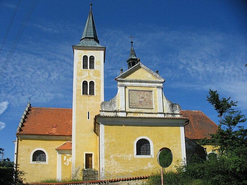 kostel sv. Vavřince v Kraselově