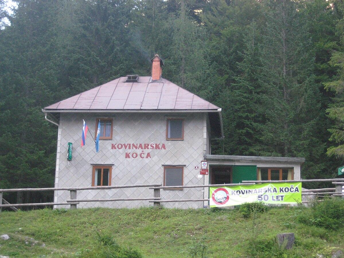 Kovinarska koča v Krmi (870 m)