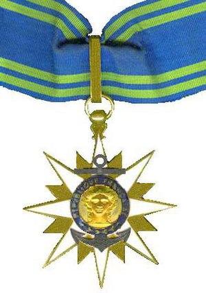Ordre du Mérite Maritime - Image: Kruis van een Commandeur in de Orde Merite Maritime