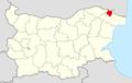 Krushari Municipality Within Bulgaria.png