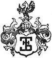 Księgarnia D. E. Friedleina logo (1906).png