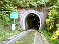 Kubiki cycling road Nagahama tunnel.jpg