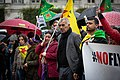 Kurdish protesters attend a demonstration against Turkey's military action (48915656491).jpg