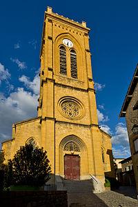 L'Arbresle, église Nativitéde St Jean Baptiste.jpg