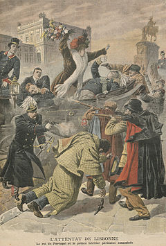 Assassination of King D. Carlos I of Portugal and the Prince Royal D. Luís Filipe, Duke of Braganza