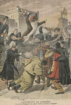 Moord van Koning D. Carlos I van Portugal en de Prince Royal D. Luís Filipe, Hertog van Braganza