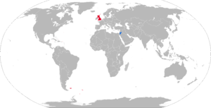 LAW 80 - Map with LAW 80 operators in blue and former operators in red