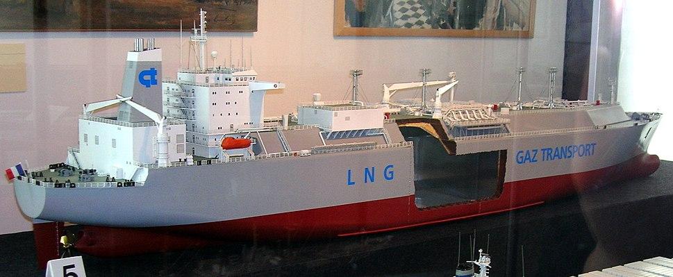 LNG tanker model