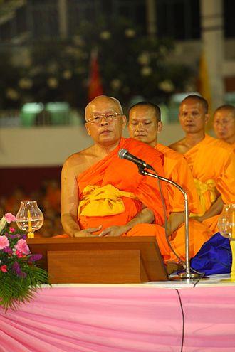 Dhammakaya Movement - Luang Por Thongdi Suratejo from Wat Rajorasarama