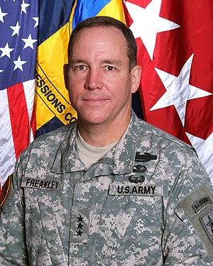 United States Army Infantry School - Image: LTG Benjamin C. Freakley