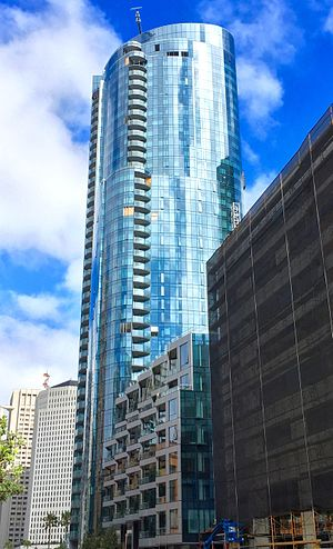 LUMINA - Image: LUMINA Tower 1, San Francisco, South View, 2015