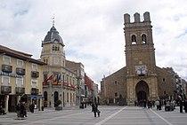 La Bañeza - Plaza Mayor 2.JPG
