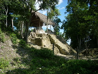 La Blanca, Peten archaeological site in Petén, Guatemala