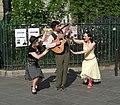 La Compagnie des Bisons Ravis Perform In Saint Germain - Paris 2010-04-24 n1.jpg