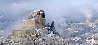 Piedmont - The Sacra di San Michele symbol of Piedmont