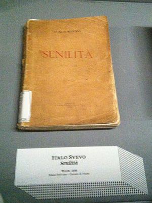Italo Svevo - First edition of Senilità