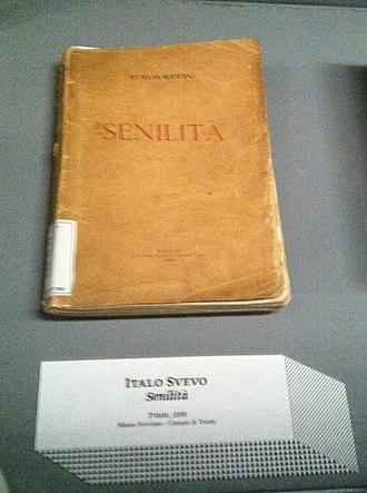 Italo Svevo - First edition of Senilità