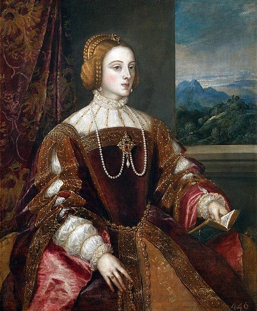 La emperatriz Isabel de Portugal, por Tiziano