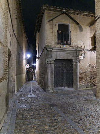 Jewish quarter of Toledo - Street in the Jewry of Toledo