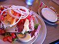 La mejor comida del viaje, encantadora cafeteria y simpaticas camareras en Key West (6360064547).jpg