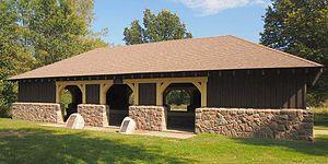 Lac qui Parle State Park - Lac qui Parle map shelter