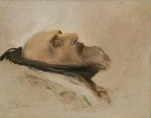 Ladislav Mednyánszky - Hlava mŕtveho otca - O 3099 - Slovak National Gallery
