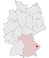 Lage des Landkreises Deggendorf in Deutschland.png