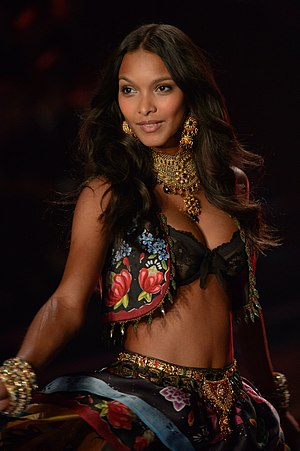 Lais Ribeiro - Ribeiro at the 2014 Victoria's Secret Fashion Show in London