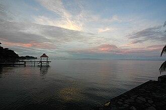 Lake Nicaragua - Lake Nicaragua in June 2005