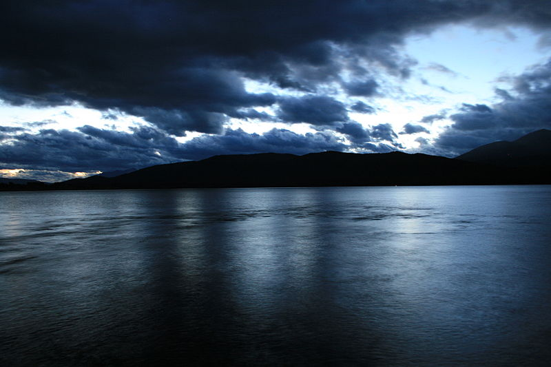 File:Lake Te Anau Night.JPG