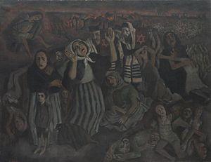 Morris Kestelman - Lama Sabachthani (why have you forsaken me?) (Art.IWM ART 16786)