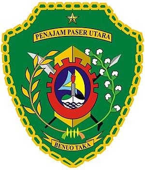 North Penajam Paser Regency - Image: Lambang Kabupaten Penajam Paser Utara