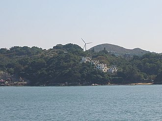 Lamma Winds - Image: Lamma Winds turbine