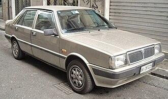Lancia Prisma - Second series Lancia Prisma